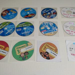 Διαφορα CD για Αγγλικα