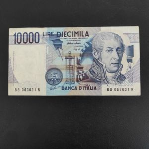 ΙΤΑΛΙΑ 10.000 ΛΙΡΕ 1984