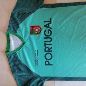 Ποδοσφαιρικό Κοντομάνικο μπλουζάκι Portugal νούμερο M