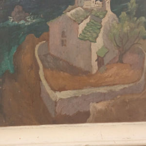 ρεγκος Πολύκλειτος σπουδαίο έργο του πολύ γνωστού  ζωγράφου. διαστ έργου 050/040