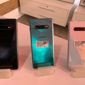 Samsung Galaxy S10+ Original (128GB) Εκθεσιακες καινουργιες Συσκευες με 9 Μηνες εγγυηση.