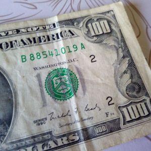 100 dollar 1990