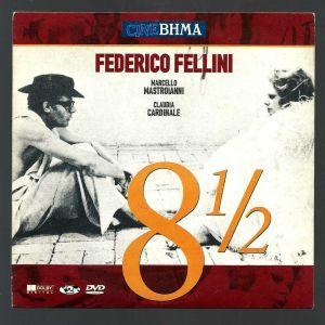DVD - 8 1/2 - FEDERICO FELLINI - Marcello Mastrogianni - Claudia Cardinale