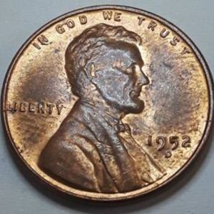 1952 D Lincoln Wheat Penny USA 1 cent Αμερική