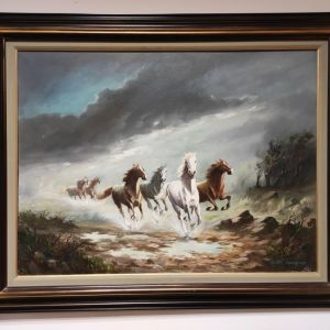 Πίνακας ζωγραφικής ''Παπαδομανωλάκης''