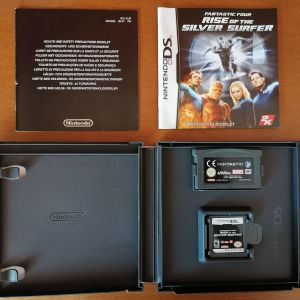 Fantastic Four Rise of the Silver Surfer Nintendo DS + Fantastic Four GameBoy Advance