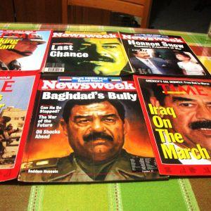 Περιοδικά ξενόγλωσα.Ο πόλεμος στον κόλπο (Ι)