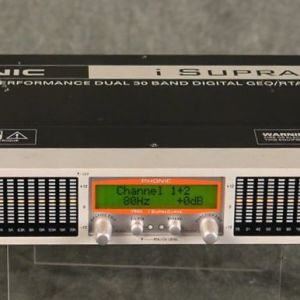 Phonic Ψηφιακό Γραφικό Equalizer & Spectrum Analyzer