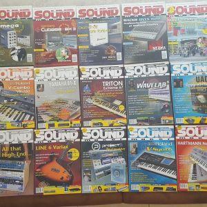"""Περιοδικά """"SOUND MAKER"""" + CD (Ελληνική έκδοση) 44 Τεύχη"""