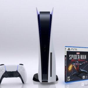 Sony PlayStation 5 blue ray edition Spider-Man