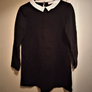 Zara βαμβακερό φόρεμα νούμερο 9/10