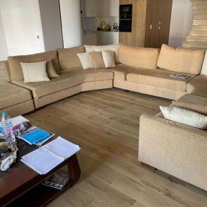 Σύνθεση πολυγωνικού καναπέ 12 θέσεων