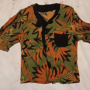 Vintage Πολύχρωμη Γυναικεία Μπλούζα T-shirt, M