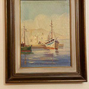 Πίνακας Ζωγραφική του Γεωργίου Ζουμπούλη