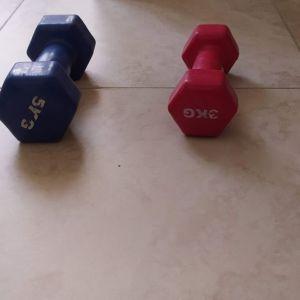 Βαράκια 3  kg και 5κγ