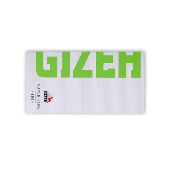 tsigarocharto GIZEH MAGNETIC SUPER FINE GREEN 100 fillon