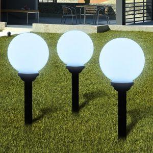 Ηλιακοί γλόμποι 20cm για διαδρόμους κήπου- 40864