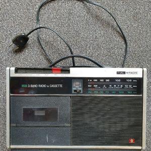 HITACHI 3 BAND Ραδιοκασετόφωνο & Transistor KCT-1200S