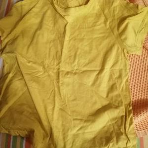 Κίτρινο t shirt medium