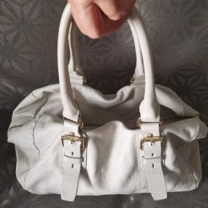 Zara δερμάτινη τσάντα