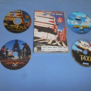 ΤΑΞΙ / ΤΑΞΙ 2 / ΤΑΞΙ 3 / ΤΑΞΙ 4 - DVD