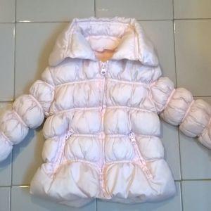 Μπουφάν παιδικό ροζ Alouette