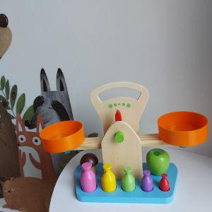 Ξυλινη ζυγαρια Montessori