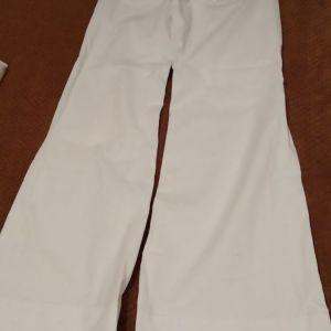 Πωλούνται 2 επώνυμα λευκά τζιν miss sixty παντελόνια σε φαρδιά γραμμή καινούργια καθόλου φορεμένα 27 νούμερο!