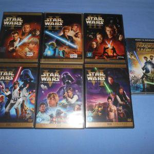 STAR WARS 7 ΤΑΙΝΙΕΣ - DVD