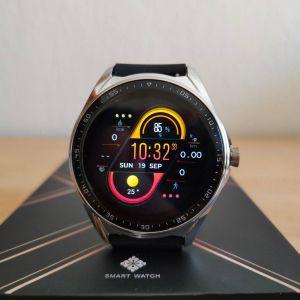 Smartwatch καινούργιo με δυνατότητα συνομιλίας και πολλά watchfaces