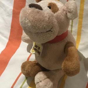 Λούτρινο σκυλάκι σε άριστη κατάσταση