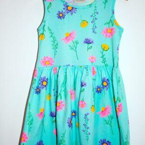 Παιδικό φόρεμα LC Waikiki ν.6-7 + μπλούζα LC Waikiki