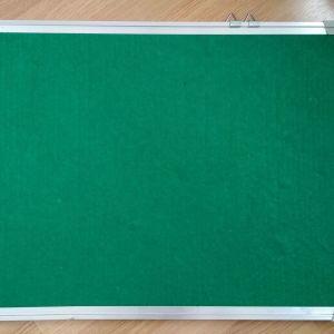 Πίνακας Τσόχας Πράσινος με Πλαίσιο Αλουμινίου 45x60cm
