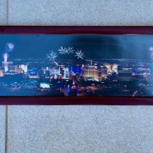 Κάδρο - Πίνακας Las Vegas Nevada Casino Picture Photo Frame 90cm x 20cm