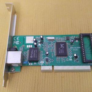 PCI κάρτα Ethernet 108Mbps