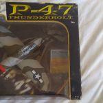 Αεροπλάνο P47 Thunderbolt σιδερένιο, κλίμακα 1:48