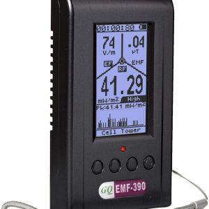 Mετρητής ηλεκτρομαγνητικής ακτινοβολίας wifi 5g EMF Detector GQ EMF-390 Tri-Field