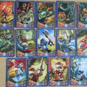 14 καρτες Legend of Chima