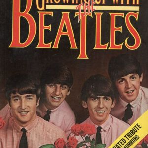 GROWING UP WITH THE BEATLES AN ILLUSTRATED TRIBUTE BY RON SCHAUNFERG A KANSAS CITY BOY COMPLETED  IN 1976  WRITTEN  FROM THE START OF FAB 4 IN 1964 TILL THEIR END IN 1975