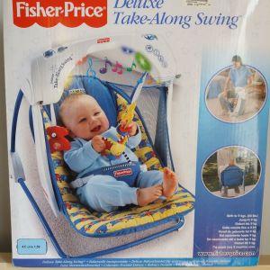 Φορητη κουνια - ρηλαξ fisher price