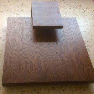 Τραπέζι καναπέ με μικρό τραπεζάκι