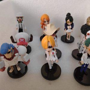 9 Συλλεκτικες Φιγουρες One Piece