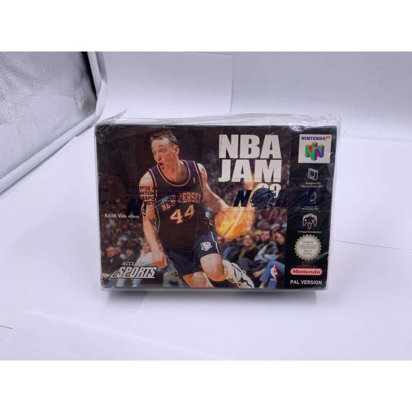 NBA JAM 99 sfragismeno! nintendo 64