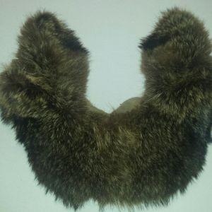 Γούνινος γιακάς μεγάλος από αλεπού