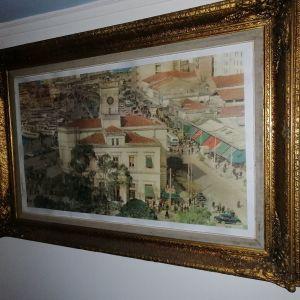 Φοτωγραφία το παλιό ρολόι του Πειραιά