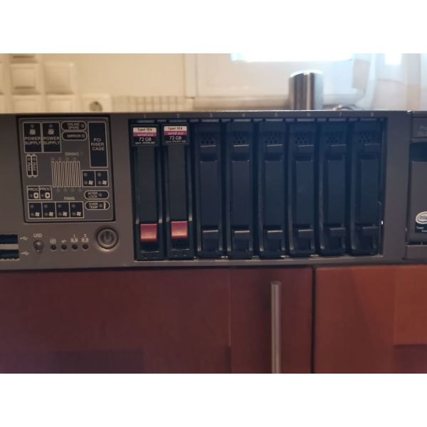 HP SERVER RACK PROLIANT DL360G5