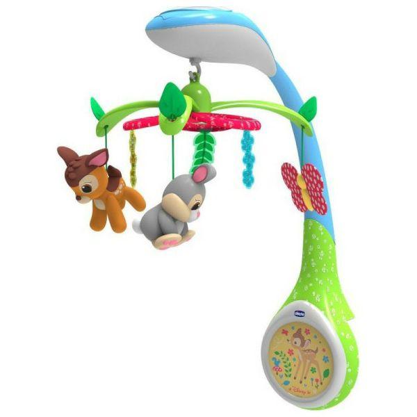 Chicco mousiko peristrefomeno 3 se 1 Disney Baby Bambi