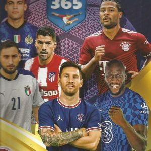 FIFA 365-2022-PANINI STICKER ALBUM