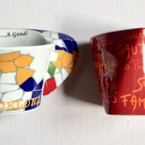 2 Κούπες Barcelona- Gaudi
