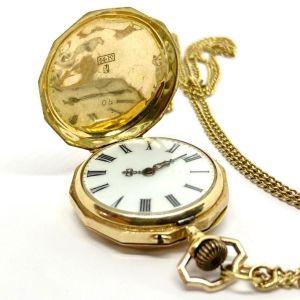 Ρολόι Τσεπης χρυσό 14k vintage 1970s